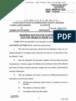 Hunter Biden new contempt motion