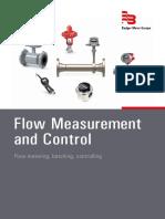 Flow meters and control valves - Flujometros