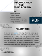Poultry Class Report