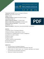ECT1401 - Ciência e Tecnologia dos Materiais - 2014.2 - KALINE