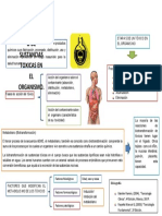 DISTRIBUCION Y METABOLISMO DE SUSTANCIAS TOXICAS EN EL ORGANISMO.
