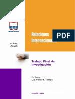 Trabajo Final de Investigacion