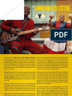 The Garifuna Collective - Ayó - Digital Booklet