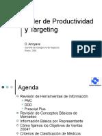 Taller de Productividad y Targeting