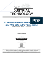 Journal of INDUSTRIAL TECHNOLOGY - A LabVIEW Bases Instrumentation System For a Wind-Solar Hybrid Power Station.pdf