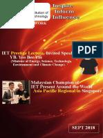 IET Malaysia Newsletter_Sept 2018