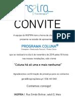 Convite Programa Coluna +