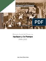 Historia social del teatro en Iquique y en la pampa - Ivan Vera Pinto