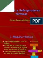 Maquinas y Refrigeradores