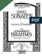 Brahms, J - Cello Sonata N 1 Op38 in E minor (bass clarinet).pdf