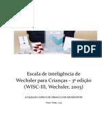 Escala de Inteligência de Wechsler - 3ª edição (WISC-III)