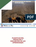 2. Planificación, Mediacion y Evaluacion