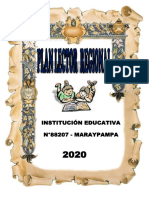 PLAN LECTOR  REGIONAL  2020-MARAYPAMPA