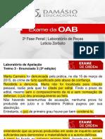Laboratorio de Pecas 09 a 12 - Leticia Zerbato