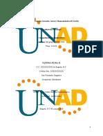 Autorretrato descriptivo - Competencia Comunicativa Actividad 2