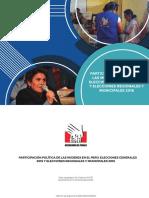PARTICIPACIÓN POLÍTICA DE LAS MUJERES EN EL PERÚ