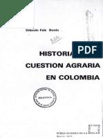 Historia de la cuestion agraria en colombia.pdf