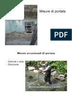 Misura Portate e scale deflusso_2013