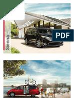 Toyota US Sienna 2012