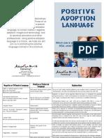 positive-adoption-language