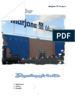 rapport  de stage (Marjane) - Agent de Vente (1)