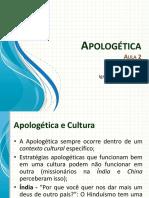 Classe de Apologética - Aula 2