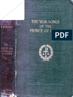 War Songs of the Prince of Peace (vol. 1)
