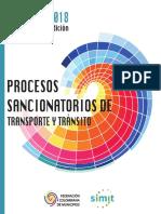 PROCESO SANCIONATORIO DE TRANSITO Y TRANSPORTE - SIMIT Y FCM V final - 16nov.pdf