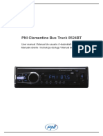 user-manual-pni-8524bt-en-es-hu-it-pl-ro