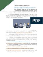 Psicoeducacion - Mindfulness JOP
