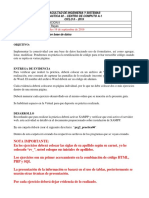 PRGII Practica 06 interaccion con base de datos
