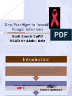 new paradigm in fungal infection. dr. Budi Enoch, SpPD