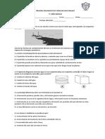 PRUEBA DIAGNOSTICO CIENCIAS NATURALES 5