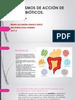 MECANISMOS DE ACCIÓN DE LOS PROBIÓTICOS. MA3-1