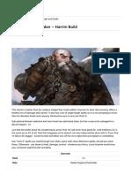 Pathfinder_ Kingmaker – Harrim Build - Neoseeker