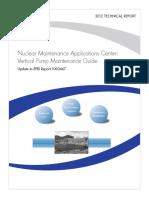 Vertical Pump Maintenance Guide, EPRI Report 1003467 (2012).pdf