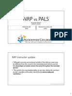 NRP vs PALS