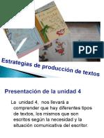 4-Estrategias de producción de textos