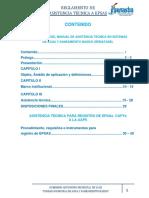 REGLAMENTO DEL MANUAL DE ASISTENCIA TECNICA EN AGUA Y SANEMIENTO BASICO