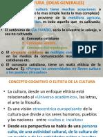 LA CULTURA  (IDEAS GENERALES) (1)