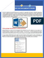 PROTEGER UN DOCUMENTO WORD