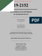 Corbett v NYC Reply Brief