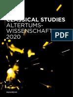De Gruyter NEV ClassicalStudies 2020 WEB