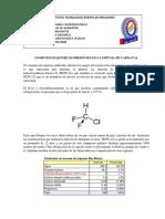 COMPUESTOS QUIMICOS PRESENTES EN LA ESPUMA DE CARNAVAL