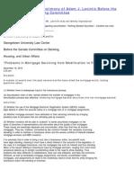 Congressional Oversight Panel Written Testimony of ADAM LEVETIN 11.16.10