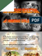 01 - PRIMEIRAS COMUNIDADES - I