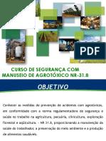 Curso Agrotóxicos NR-31.8 Fazendas Pedro Viana