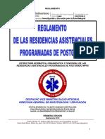 REGLAMENTO ESTUDIOS DE POSTGRADOS