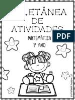 ATIVIDADES PARA IMIPRIMIR DE MATEMÁTICA 1 ANO