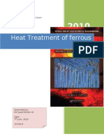 Heat Treatment of Ferrous Alloys